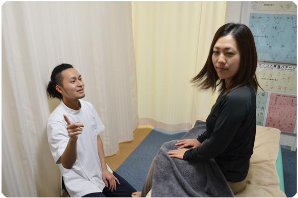 施術後の検査