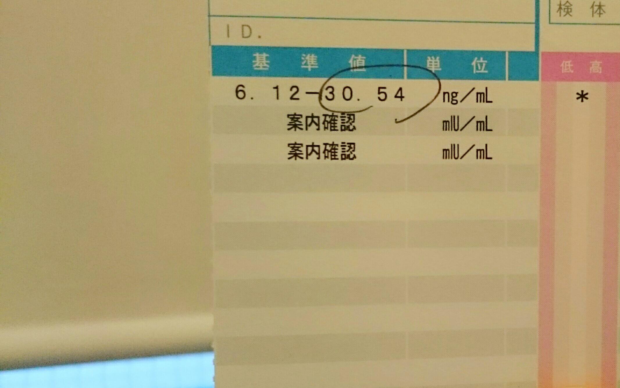 妊活(haha活)中の私〜血液検査編